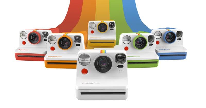 Polaroid Originals Reclaims 'Polaroid' Name, Unveils Polaroid Now Camera