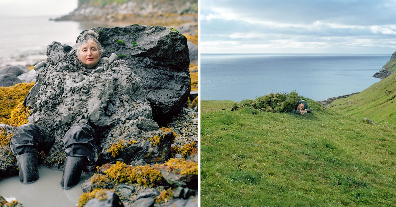 Creative Portraits of Humans Literally Blended Into the Landscape