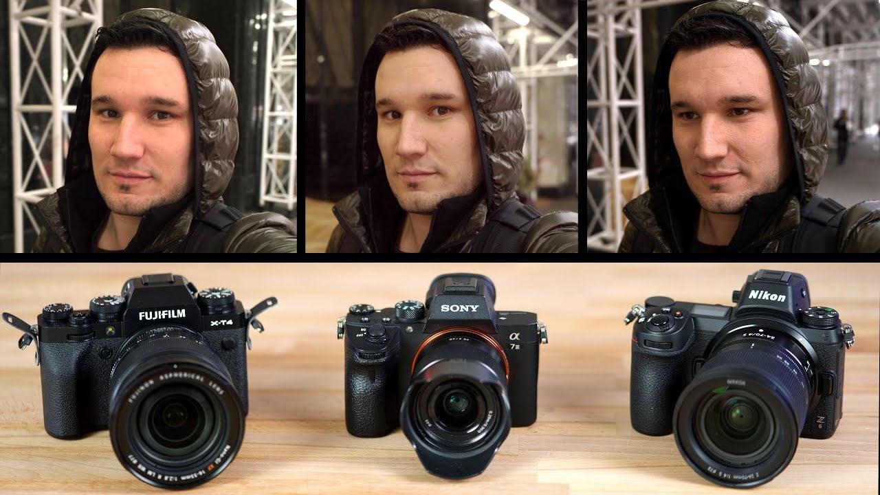 Sony a7III vs Fuji X-T4 vs Nikon Z6: IBIS and Video Comparison