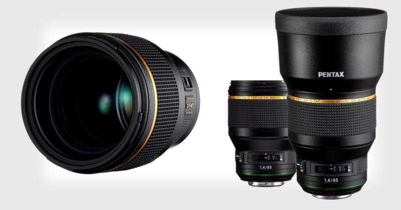 Pentax Announces Development of 'Star-series' 85mm f/1.4 Lens