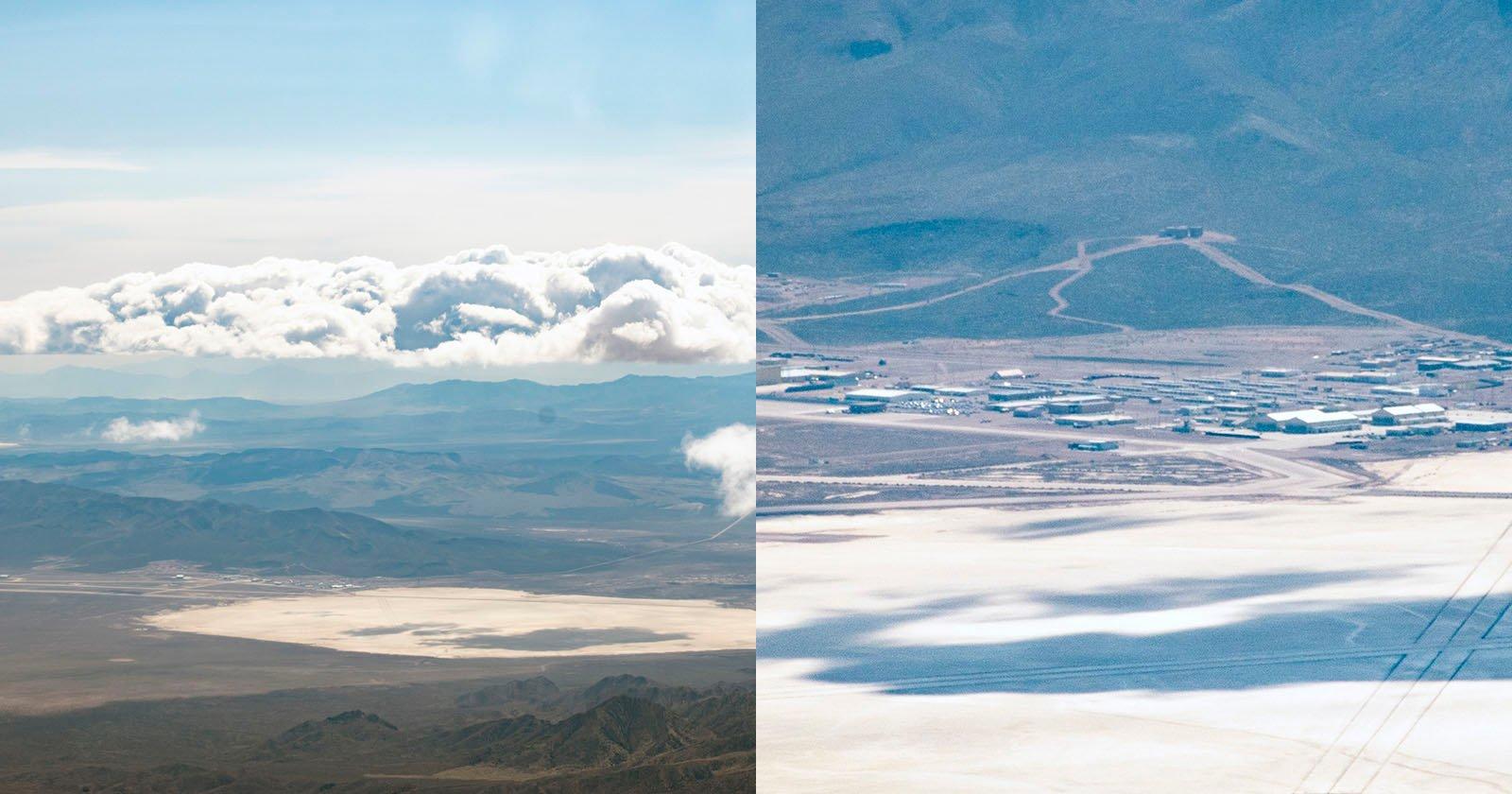 This Pilot Took Rare Aerial Photos of Area 51