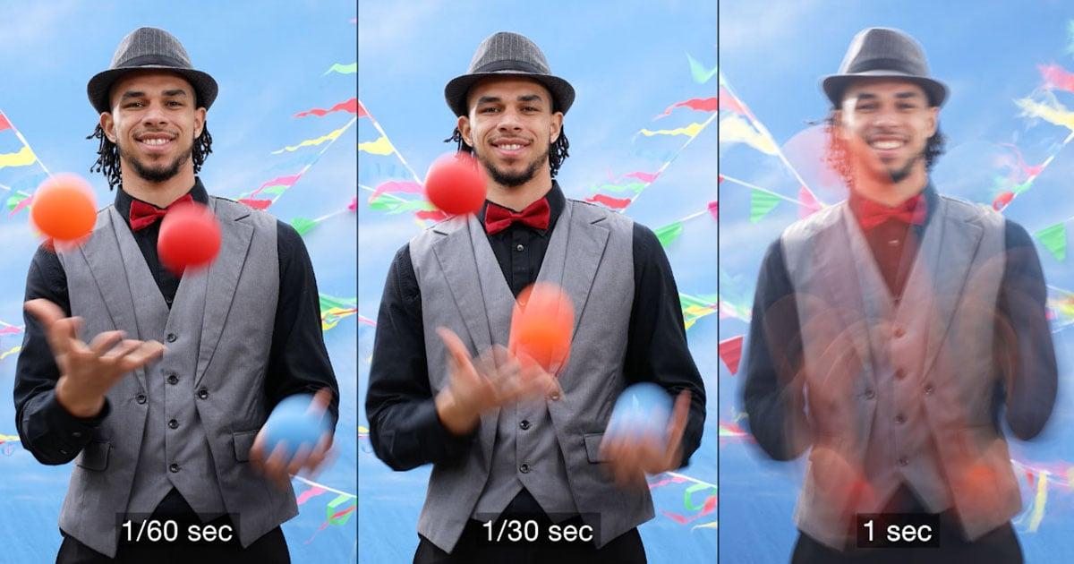 Camera Basics: Understanding Shutter Speed