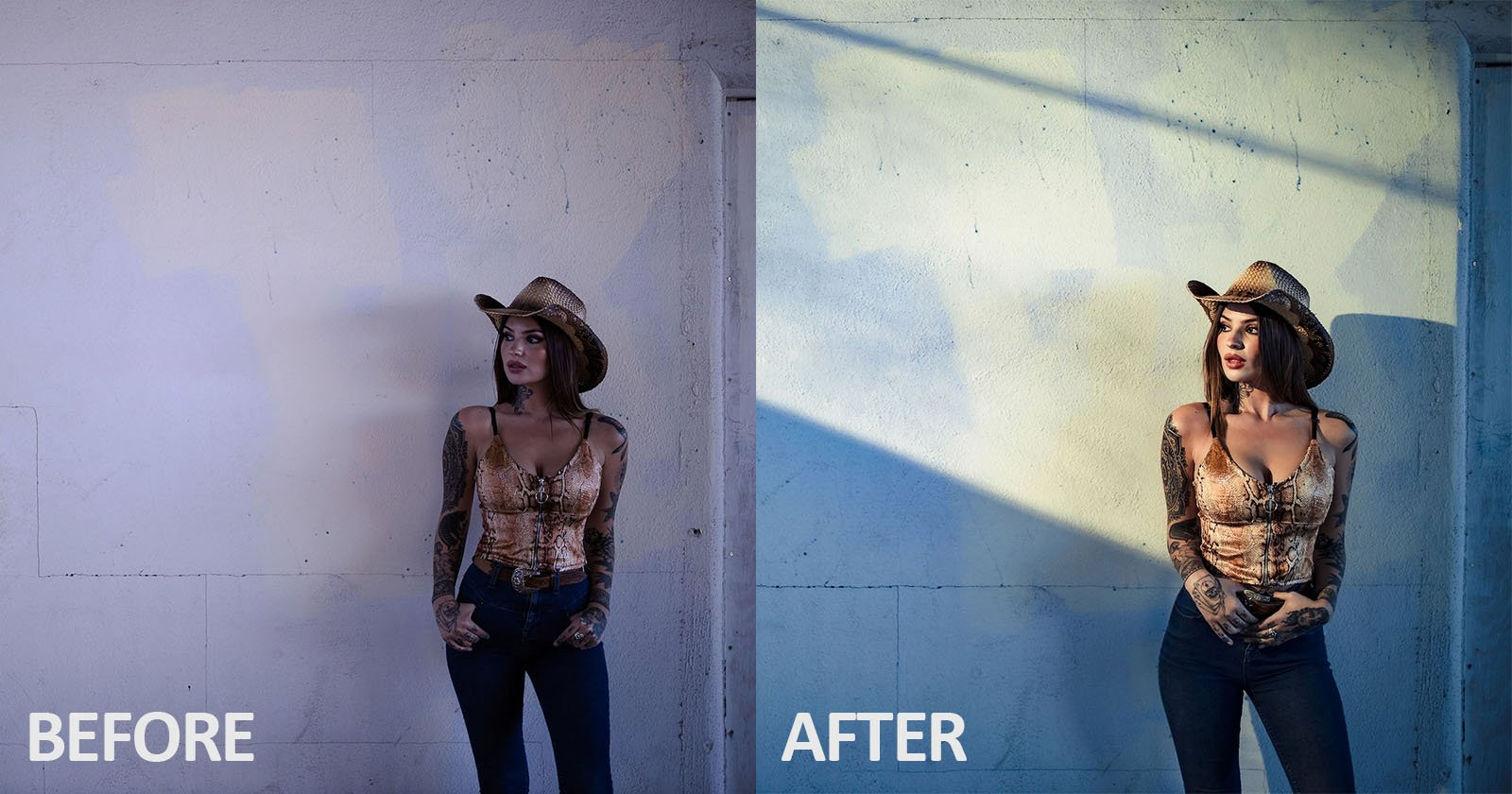 How to Fake Window Light in a Portrait with an Off-Camera Flash