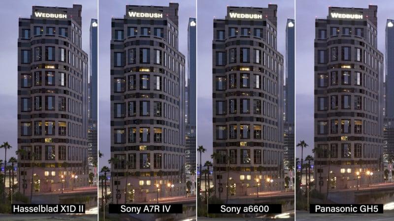 Sensor Size Comparison: MF vs Full Frame vs APS-C vs Micro Four Thirds