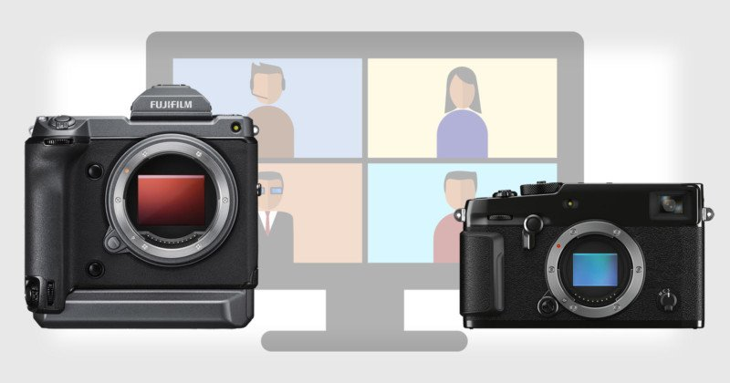 You Can Now Use Fujifilm X and GFX Cameras as Webcams