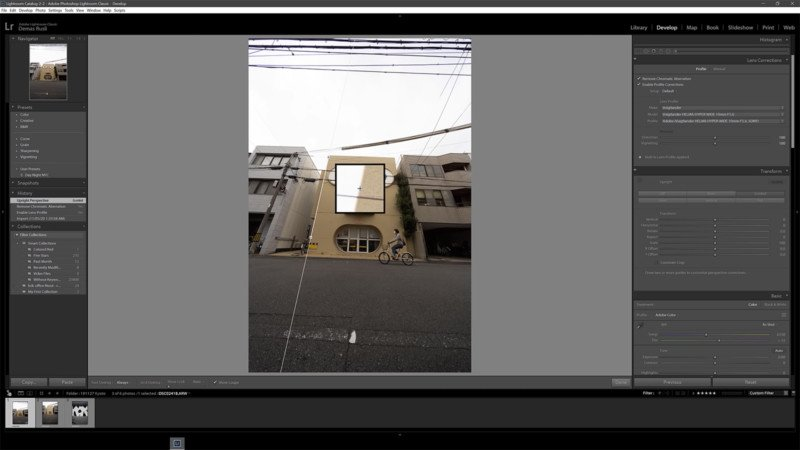 How to Straighten a Photo Perfectly Using Lightroom and Photoshop