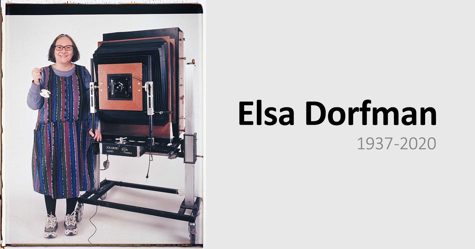 Elsa Dorfman, Giant Polaroid Camera Photographer, Dies at 83