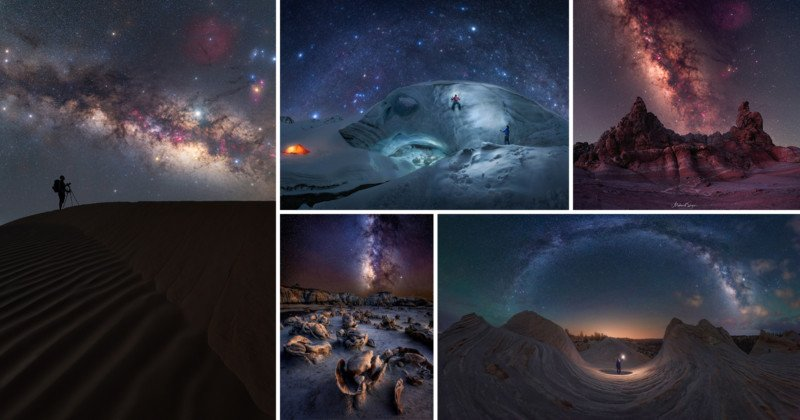 15 Stunning Photos from This Year's Milky Way Photographer of the Year