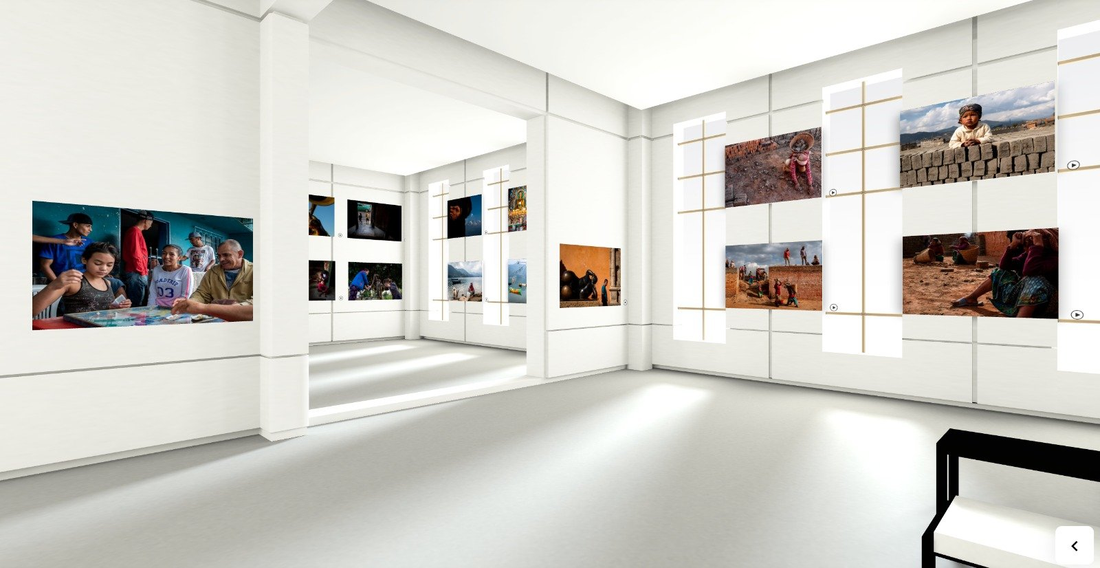 Creating a Virtual Photo Exhibition in the Time of COVID