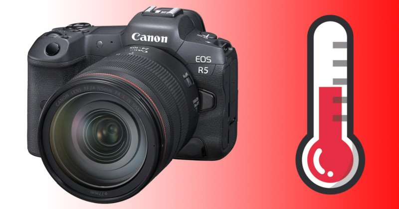 Canon is Delaying EOS R5 Shipments Due to Overheating Concerns: Report