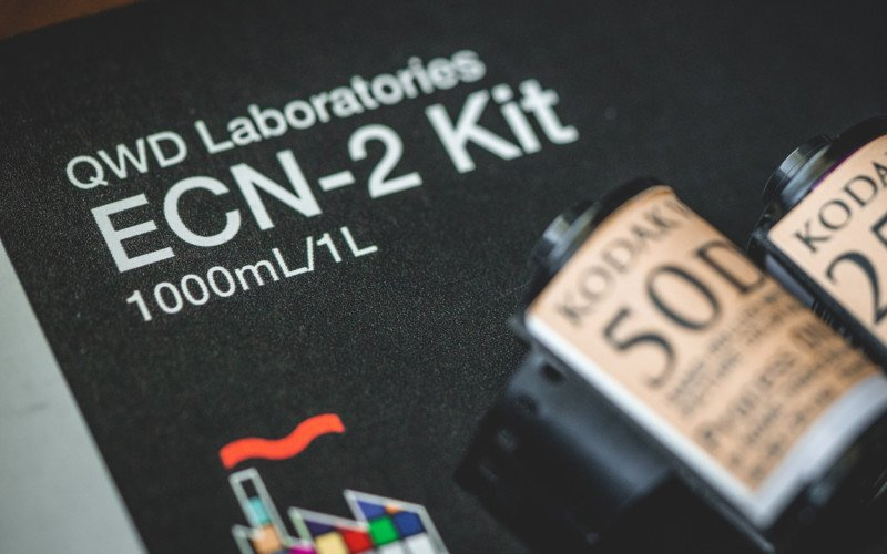 Developing ECN-2 Motion Picture Film at Home