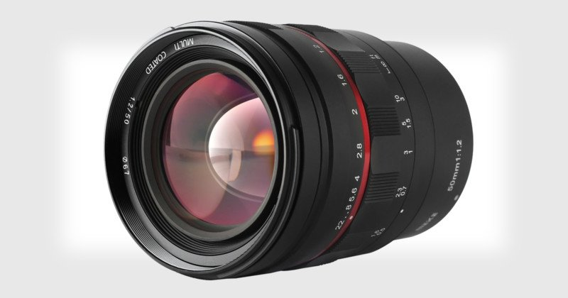 Meike Unveils a 50mm f/1.2 Lens for Canon, Nikon, and Sony for Just $360