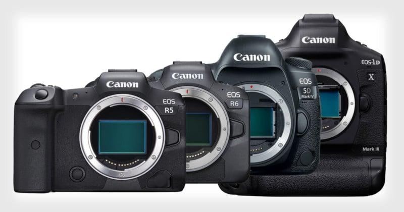 ISO Testing the Canon R5, R6, 5D Mark IV, and 1D X Mark III 1