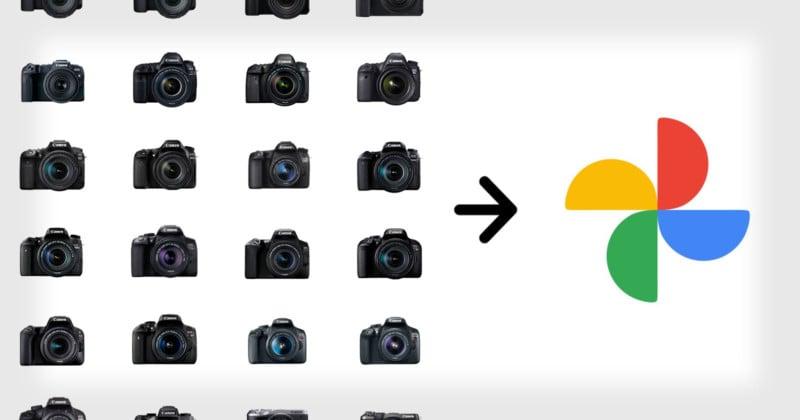 Canon Cameras Can Now Auto-Backup to Google Photos