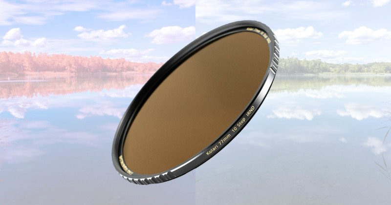 The Kolari Pro IRND Filter is Designed for Both Infrared and Visible Light