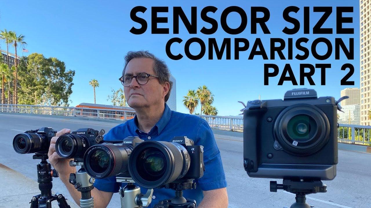 Sensor Comparison Revisited: Does Sensor Size REALLY Matter?