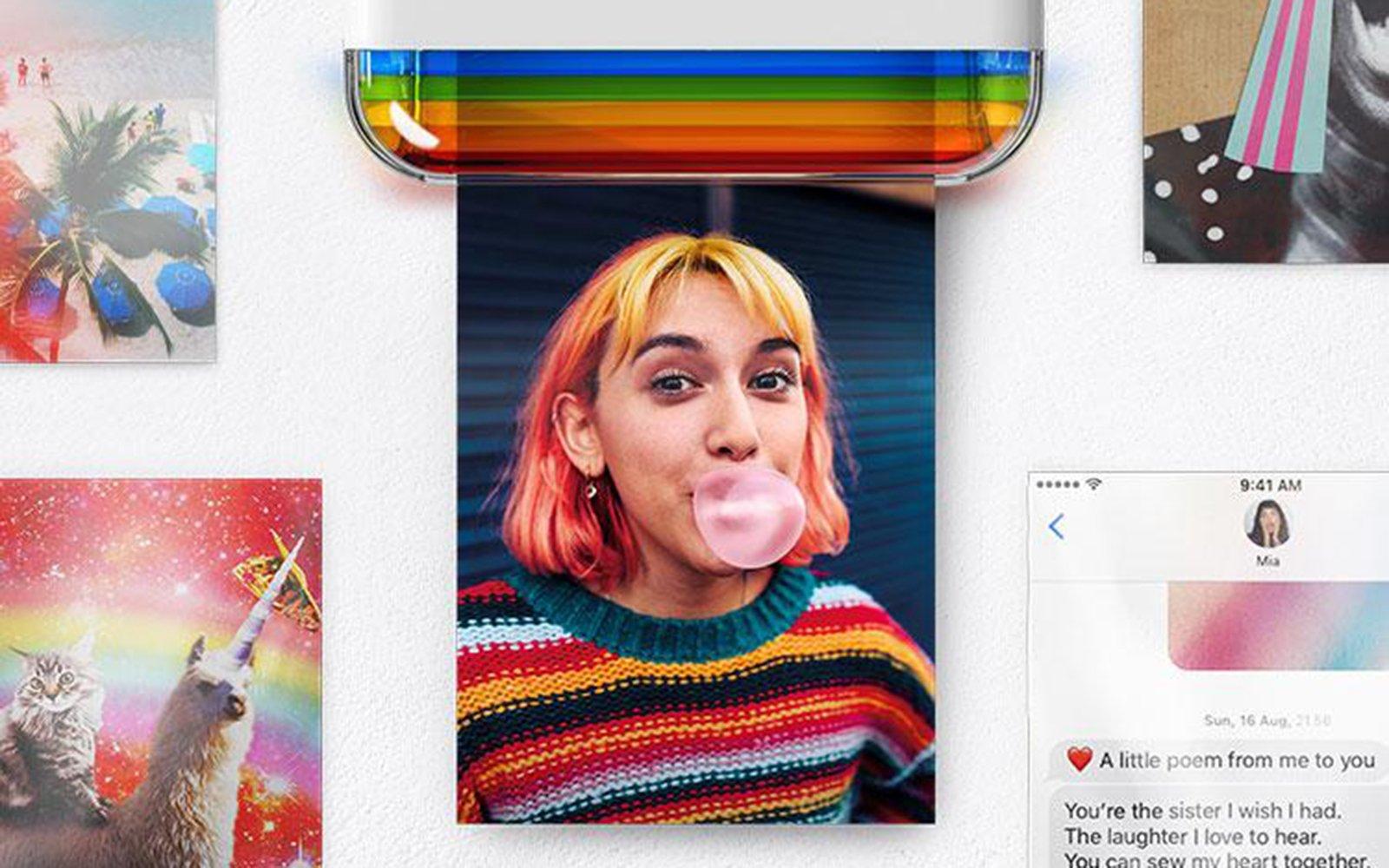 Polaroid Unveils Pocket-Sized Dye Sub Printer for Your Smartphone ...