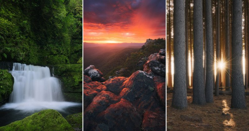 The Power of Transitions: A Theory of Landscape Photography: