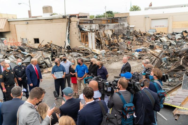 109-Year-Old Rode's Camera Shop Burned Down in Kenosha 7