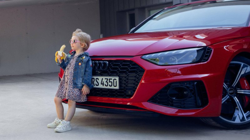 Audi Apologizes for Ad Photo Showing Little Girl Holding Banana