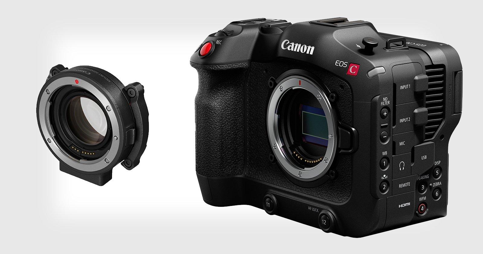 Canon Unveils EOS C70 RF Mount Cine Camera and EF-to-RF Speedbooster
