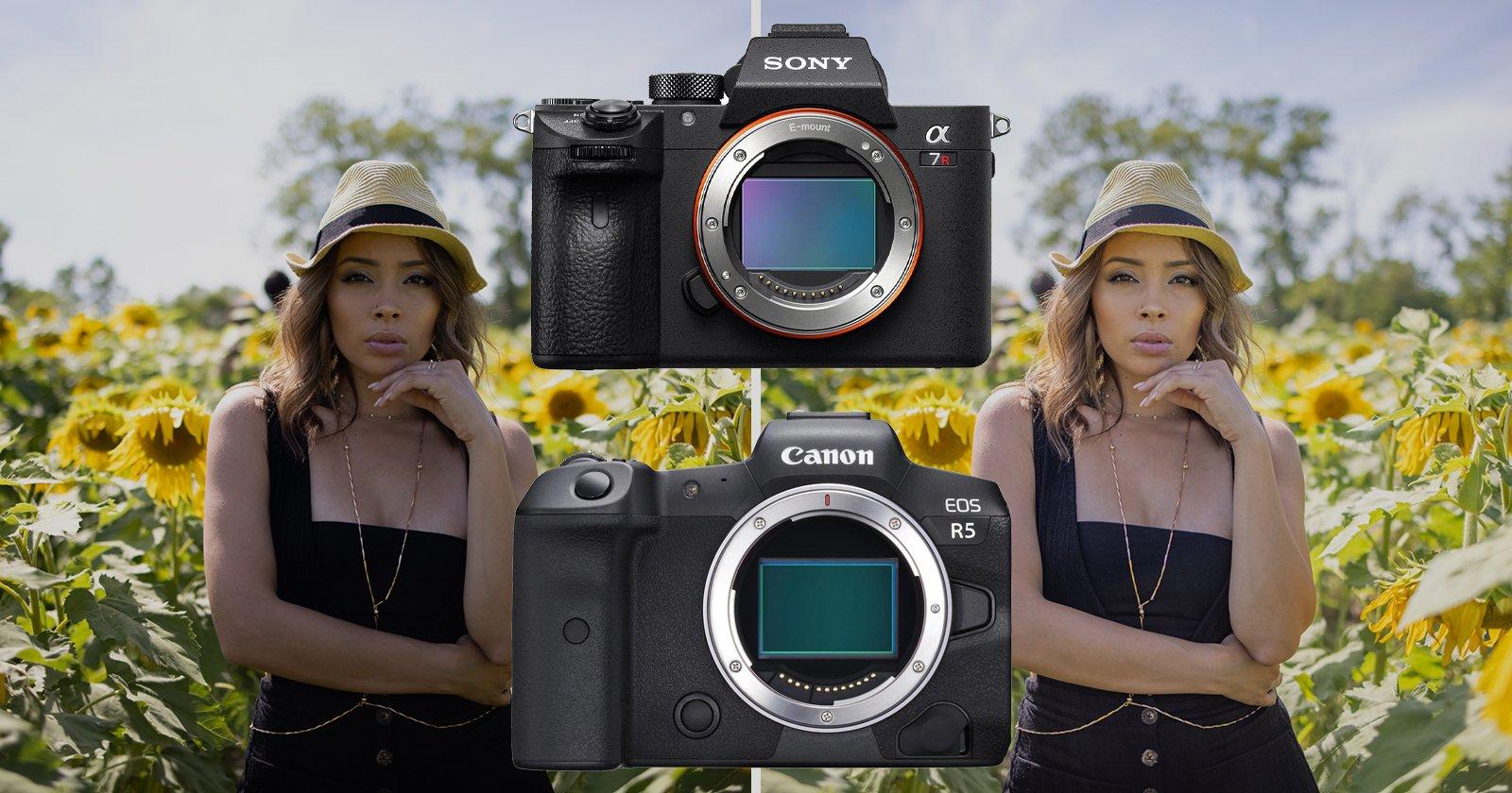 Canon EOS R5 vs Sony a7R III Dynamic Range Test: Has Canon Caught Up?