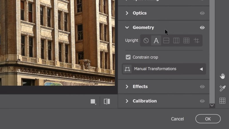 How to Correct Perspective Distortions with Photoshop's Camera Raw Filter 2