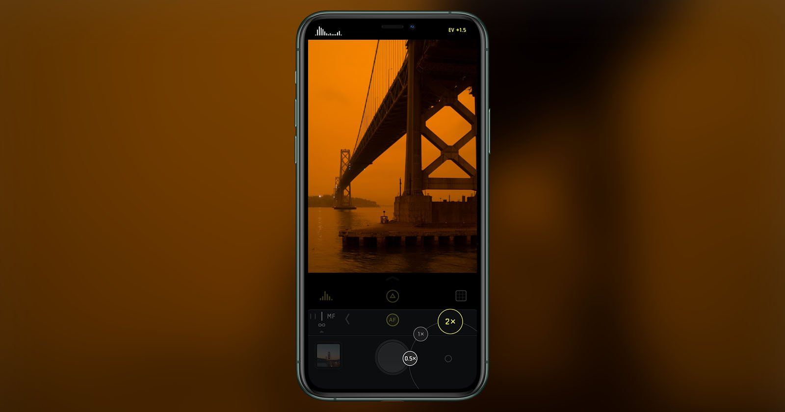 Halide Camera App Sees Big Spike for Wildfire Sky Photos, Donates Sales