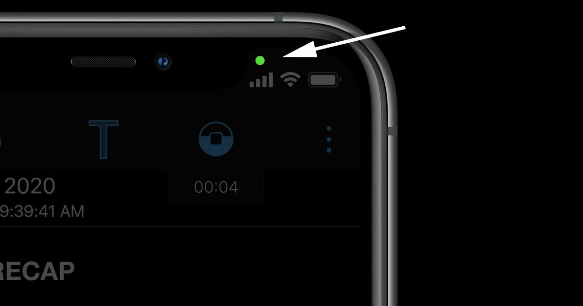 If Your iPhone Has a Green Dot in iOS 14, Your Camera May Be Spying On You