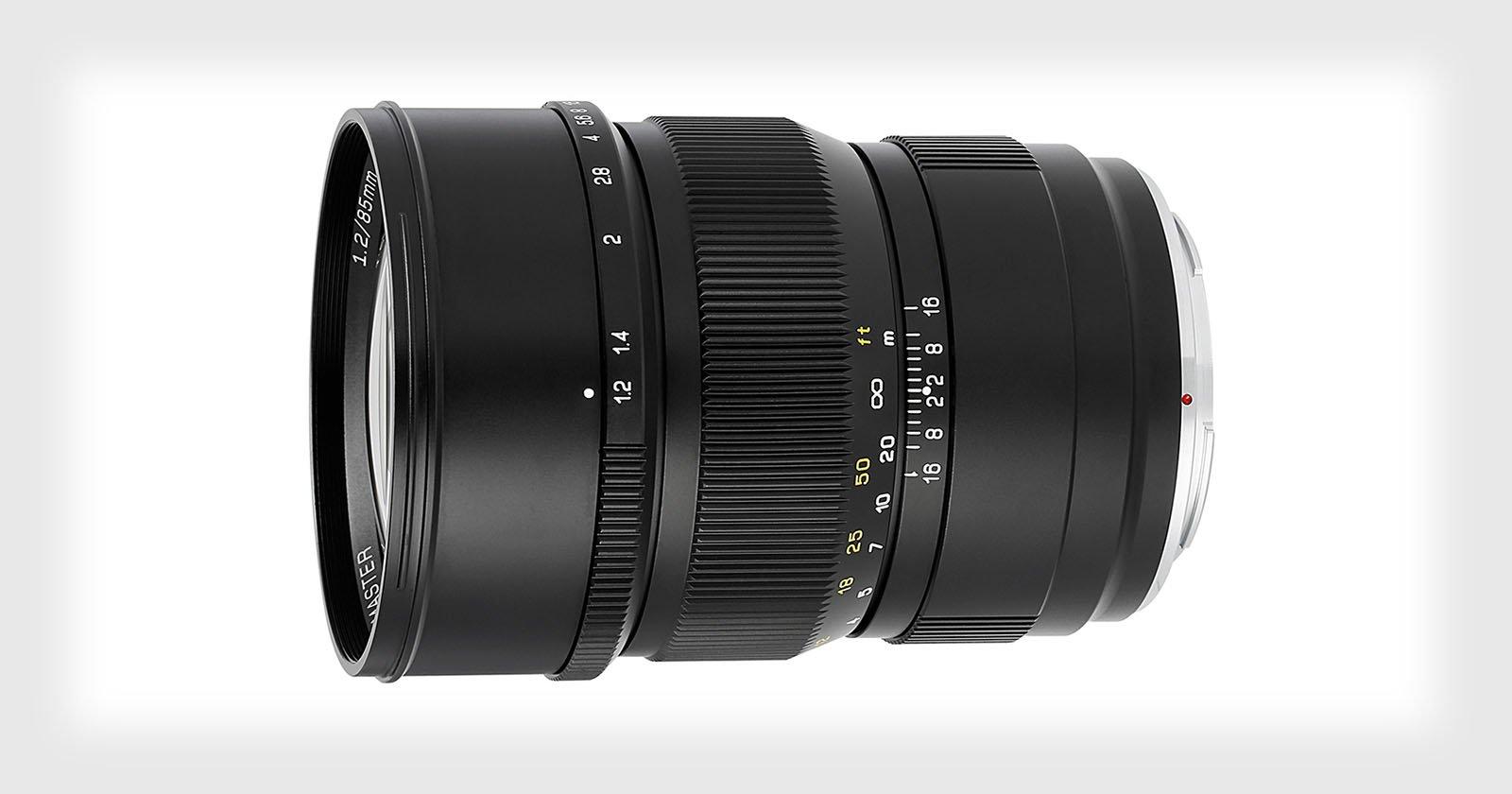 Mitakon Speedmaster 85mm f/1.2 for Canon RF and Nikon Z Costs $680