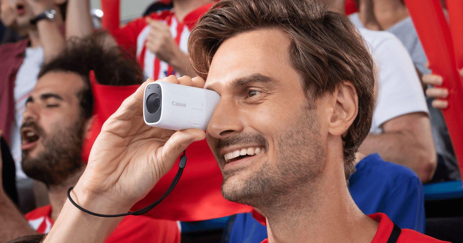 Canon Unveils the PowerShot Zoom, A Strange Monocular Camera