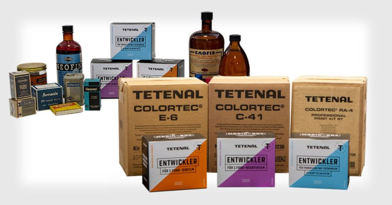 TETENAL is Back: 173-Year-Old Photo Chemistry Brand Launches New Store