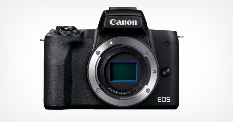 Canon Announces 24.1 MP EOS M50 Mark II Mirrorless Camera