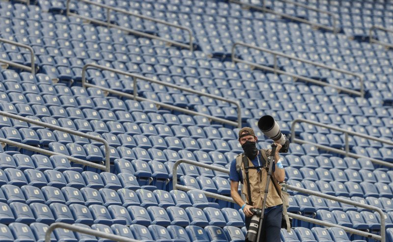 Shooting an NFL Game in an Empty Stadium During COVID 10