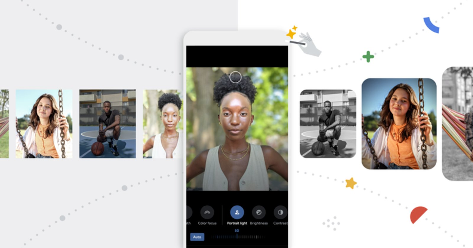 Google Photos Gets AI 'Portrait Light' Tool and One-Tap Edits