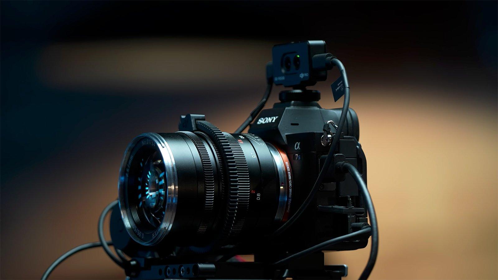 Using LiDAR to Add Autofocus to an f/0.95 Manual Focus Lens