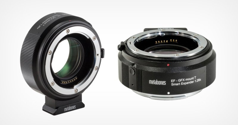 Metabones Smart Expander Gives Canon EF Lenses Full Functionality on the Fujifilm GFX