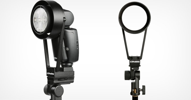 Profoto Launches $300 Modifier Bracket for its $1,100 Speedlight
