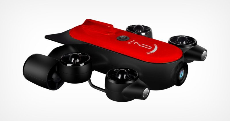 This Drone Dives Up to 574 Feet Underwater, Features Sony Sensor