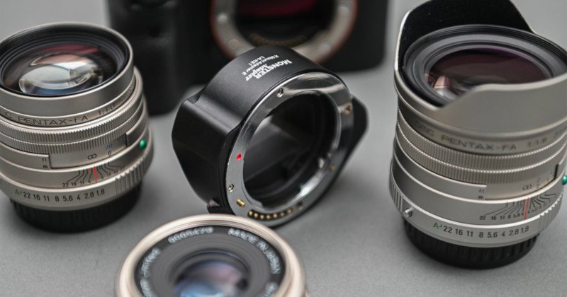 Upcoming Adapter Brings Pentax K Glass to Sony E-Mount, AF Included