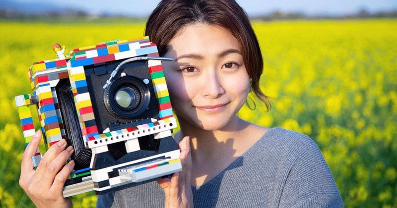 Photog Builds LEGO 4×5 Camera After Being Forced to Sell Favorite Camera