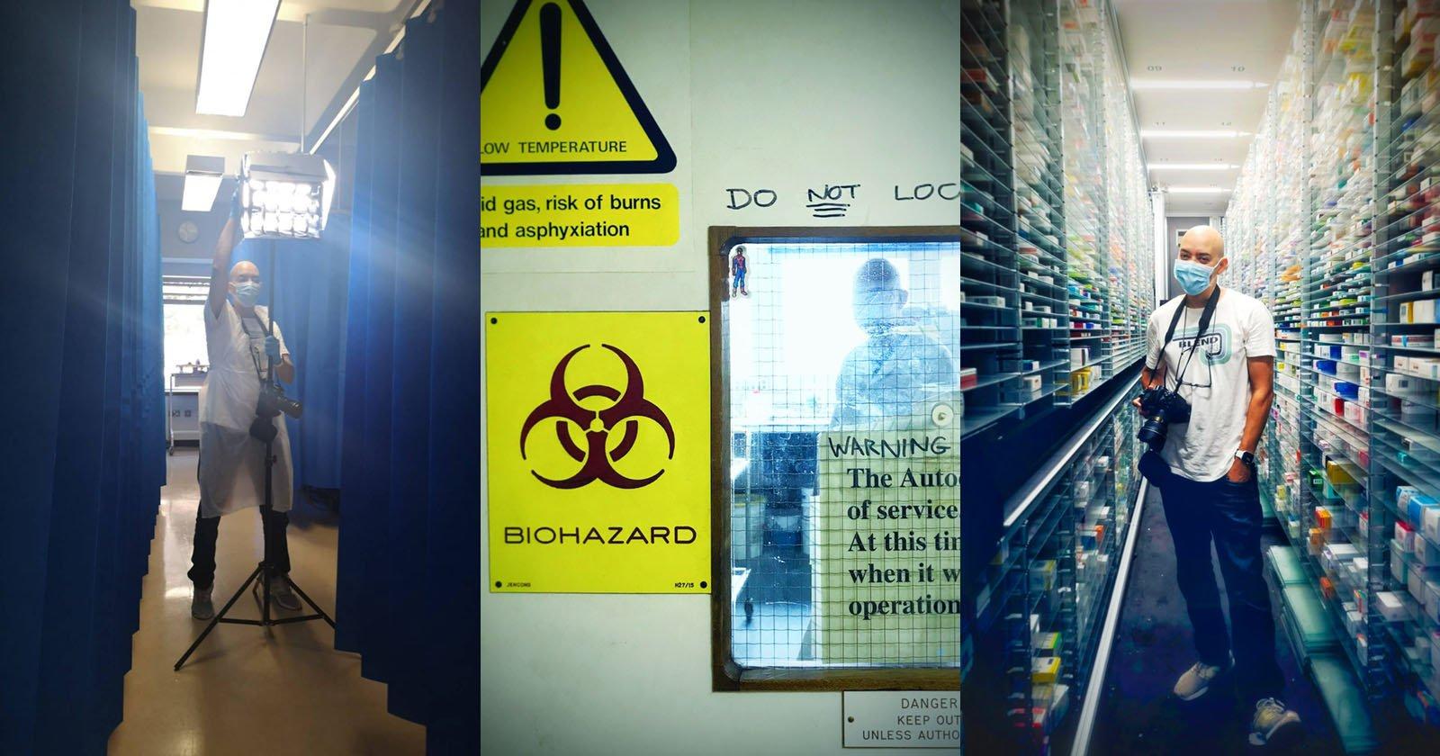 Shooting Portraits Inside a London COVID Hospital
