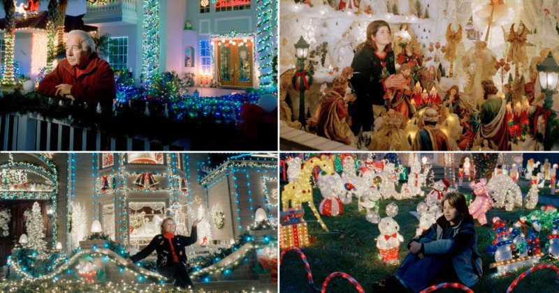 Photo Series of Incredible Home Christmas Displays is a Perfect Encapsulation of Americana