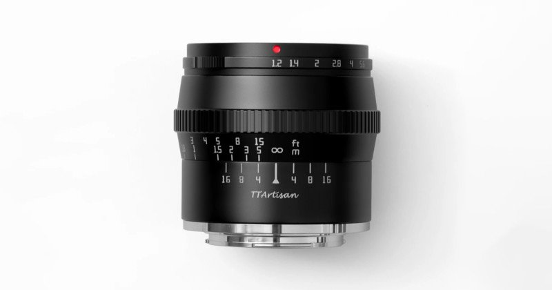 TTArtisan Unveils 50mm f/1.2 APS-C Lens, a $98 Optic for Multiple Mounts