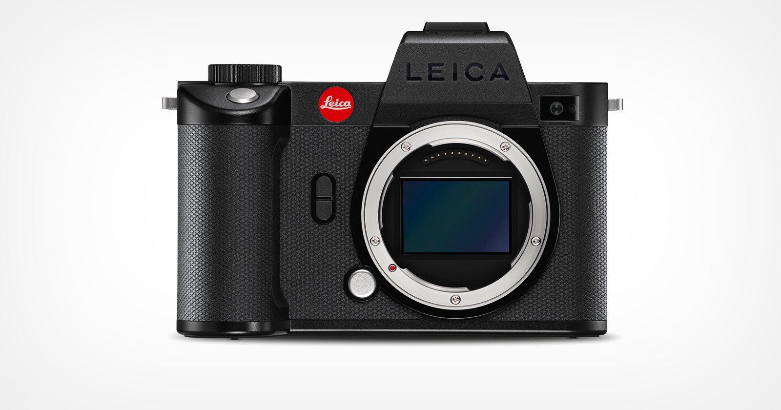 Leica SL2-S is an Action-Focused Camera: 24.6MP BSI Sensor, 25 FPS