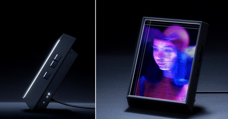 This Digital Photo Frame Can Turn Your iPhone Portraits into 3D Holograms 9
