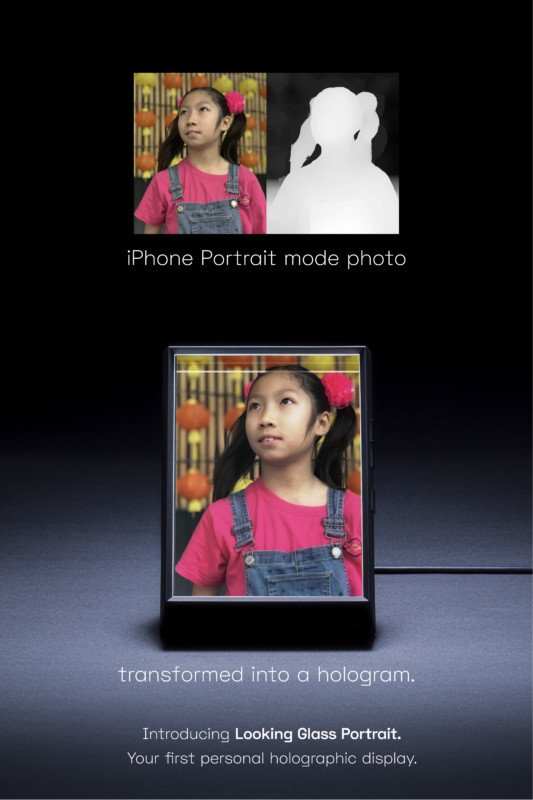 This Digital Photo Frame Can Turn Your iPhone Portraits into 3D Holograms 15