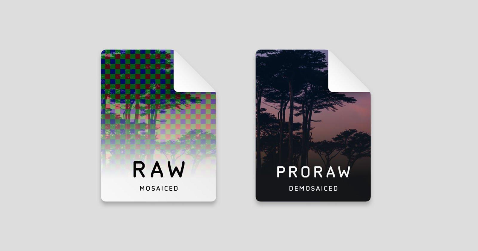 Understanding Apple ProRAW