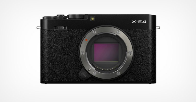 Fujifilm Reveals the X-E4: The Smallest-Ever X-Series Camera