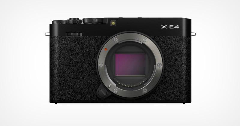 The Fujifilm X-E4 is the Last To Use X-Trans IV Sensor: Report